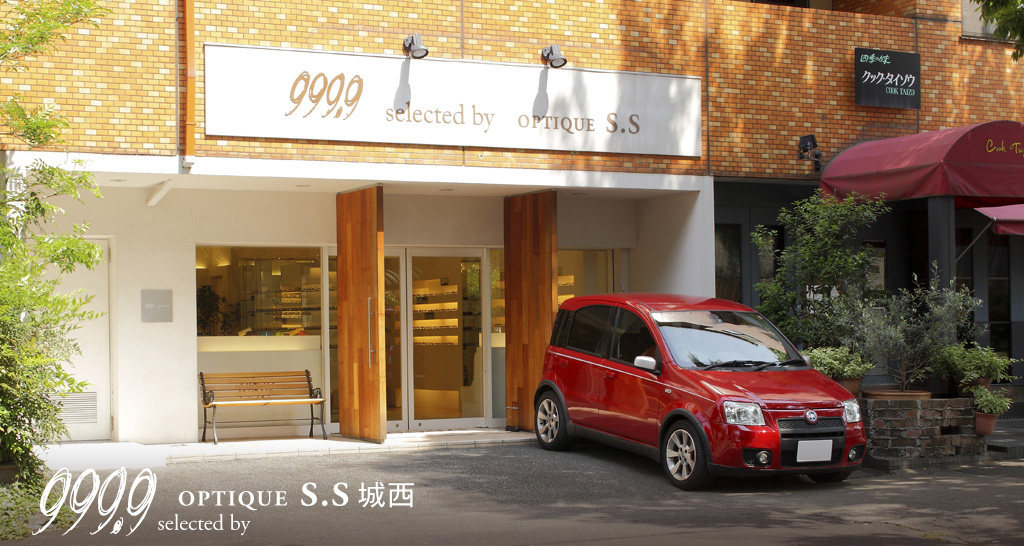 """999.9 selected by OPTIQUE S.S 城西"